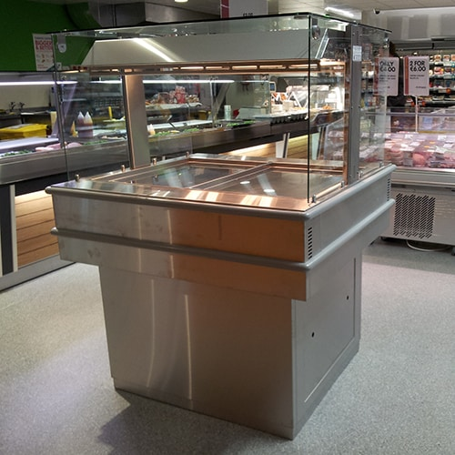 Martin Food Equipment Deli-Kitchen-Island-Merchandiser-01 Deli Kitchen DK I3 Self Service Island Merchandiser