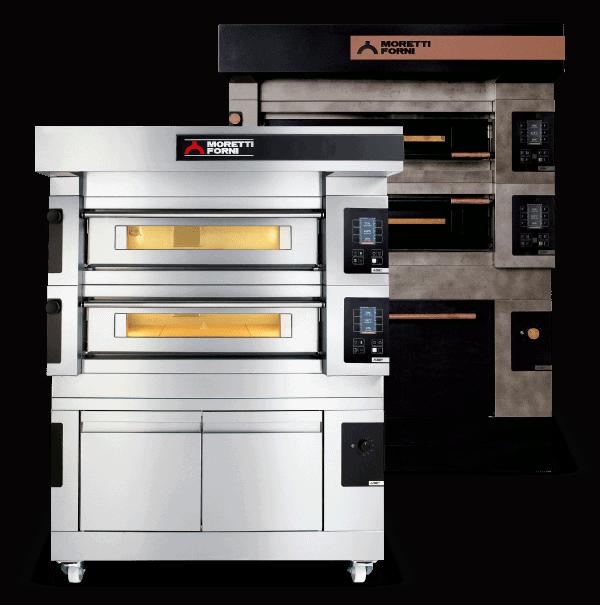 Martin Food Equipment serieS_S105E-1 Moretti Forni Serie S Pizza Oven