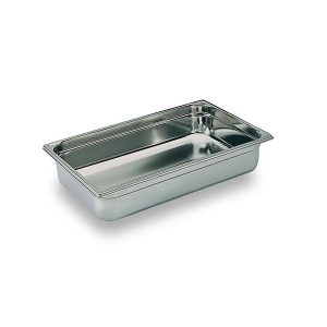 Martin Food Equipment 10262-4-300x300 1/1 gastronorm  x 100mm deep Stainless Steel Gastronorm