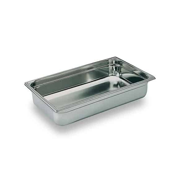 Martin Food Equipment 10266-3 1/1 x 55mm Stainless Steel Gastronorm