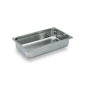 Martin Food Equipment 10641-3-300x300 1/1 x 100mm Stainless Steel Perforated Gastronorm