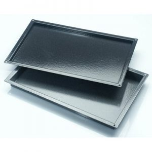 Martin Food Equipment 13450-2-300x300 1/1 size gastronorm x 20mm deep Enamel Tray