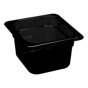 Martin Food Equipment 14446-1-300x300 Cambro 1/6 x 100mm Black Polycarbonate Food Pan