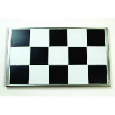 Martin Food Equipment 14765-1 Primeware 1/1 Hot Black & White Tile Insert