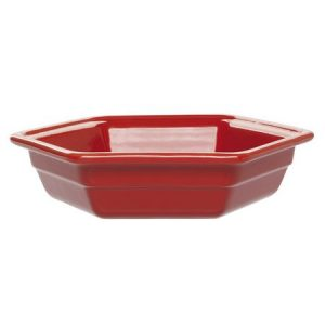 Martin Food Equipment 14882-1-300x300 Emile Henry Ceramic Hexagon Dish Red