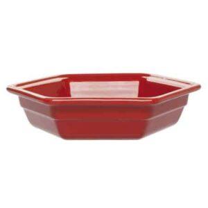 Martin Food Equipment 14882-1-300x300 Emile Henry Ceramic Hexagon Dish Red