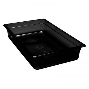 Martin Food Equipment 15378-1-300x300 Cambro 1/1 x 100mm Black Polycarbonate Food Pan