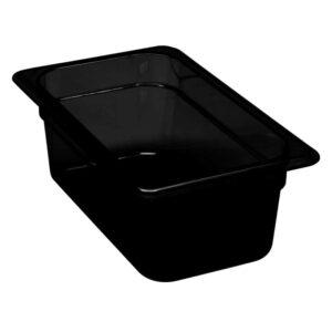 Martin Food Equipment 15385-1-300x300 Cambro 1/4 x 100mm Black Polycarbonate Food Pan
