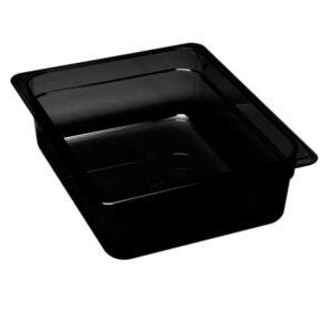 Martin Food Equipment 15396-1-300x300 Cambro 1/2 x 65mm Black Polycarbonate Food Pan