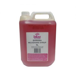 Martin Food Equipment Blizz-Banana-milkshake-300x300 Blizz Banana Flavour Milkshake Syrup Concentrate