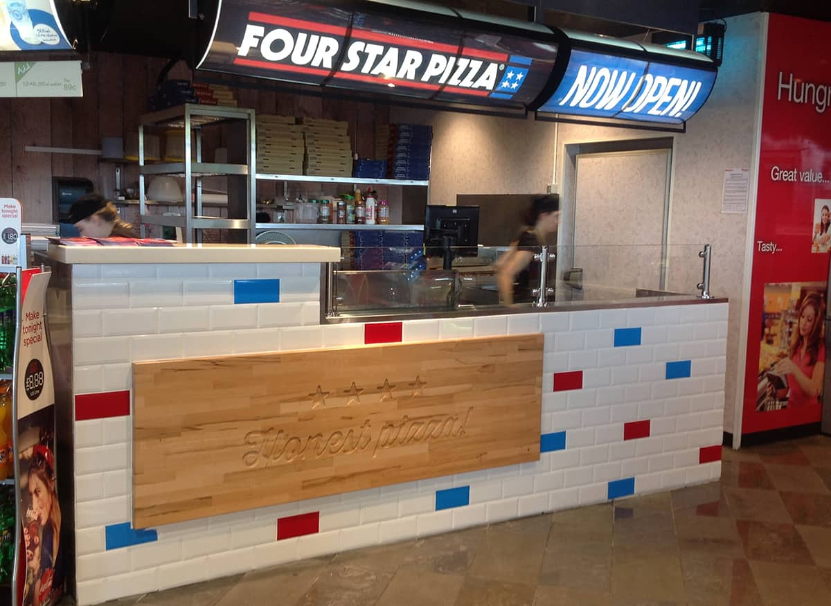 Martin Food Equipment Four-Star-Pizza-Mullingar QSR