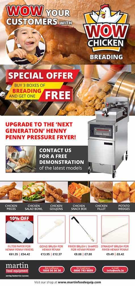 Martin Food Equipment Wow-Ezine.facebook Henny Penny PFE 591 (Electric)