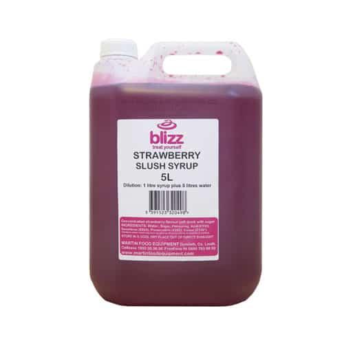 Martin Food Equipment strawberry-slush Blizz Strawberry Slush