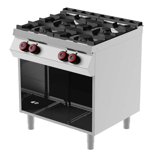 Martin Food Equipment GastroServe-Gas-Range-FA072M00-01 GastroServe Gas Range FA072M00