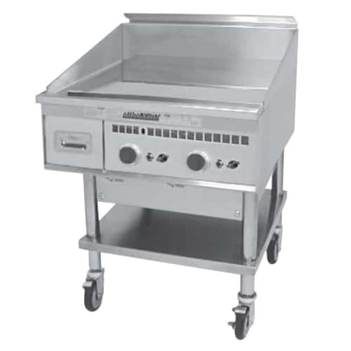 Martin Food Equipment Keating-Miraclean-Gas-Griddle-01 Keating Miraclean Gas Griddle