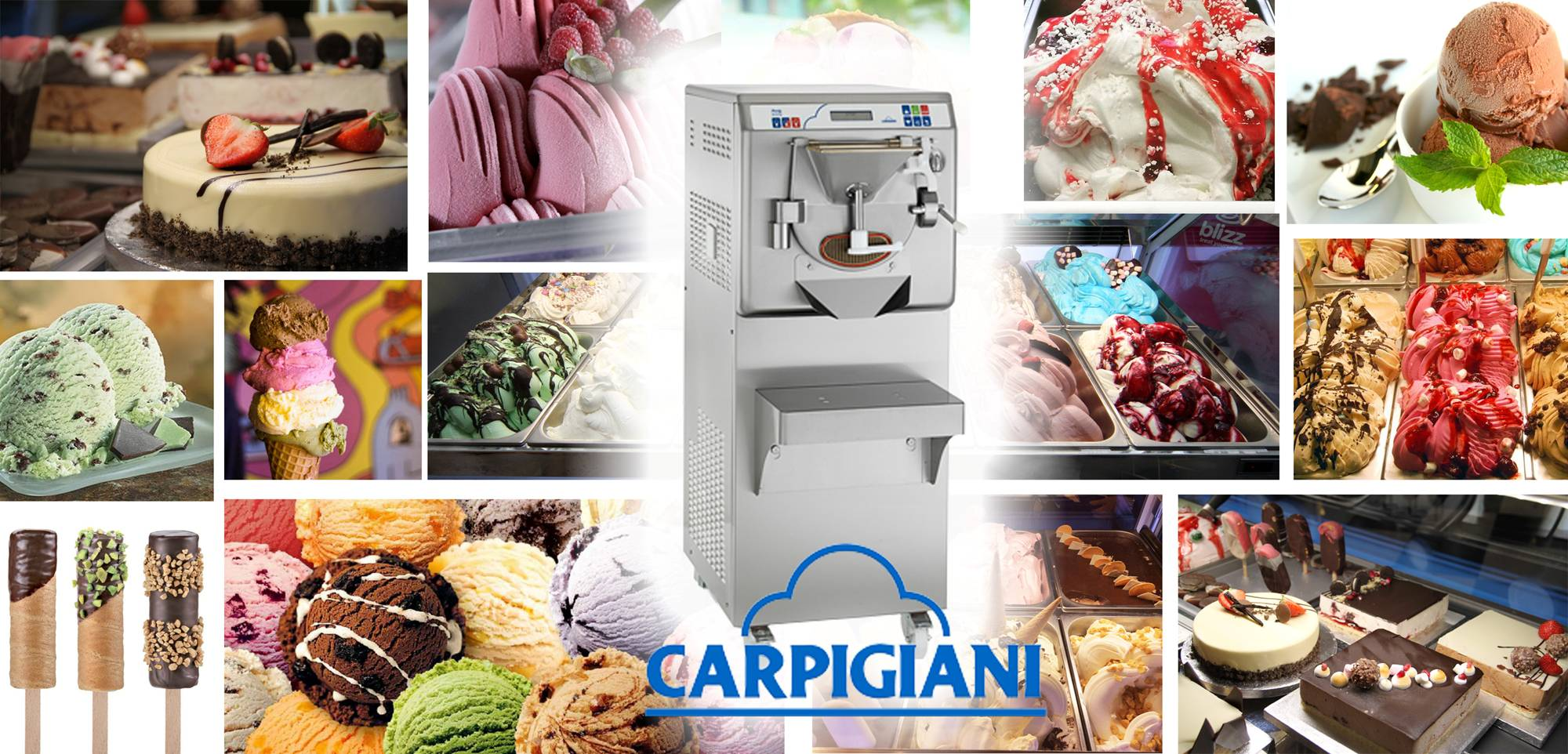 Martin Food Equipment Carpigiani-Labo-Collage Upcoming Artisan Gelato Introductory DEMONSTRATION Events