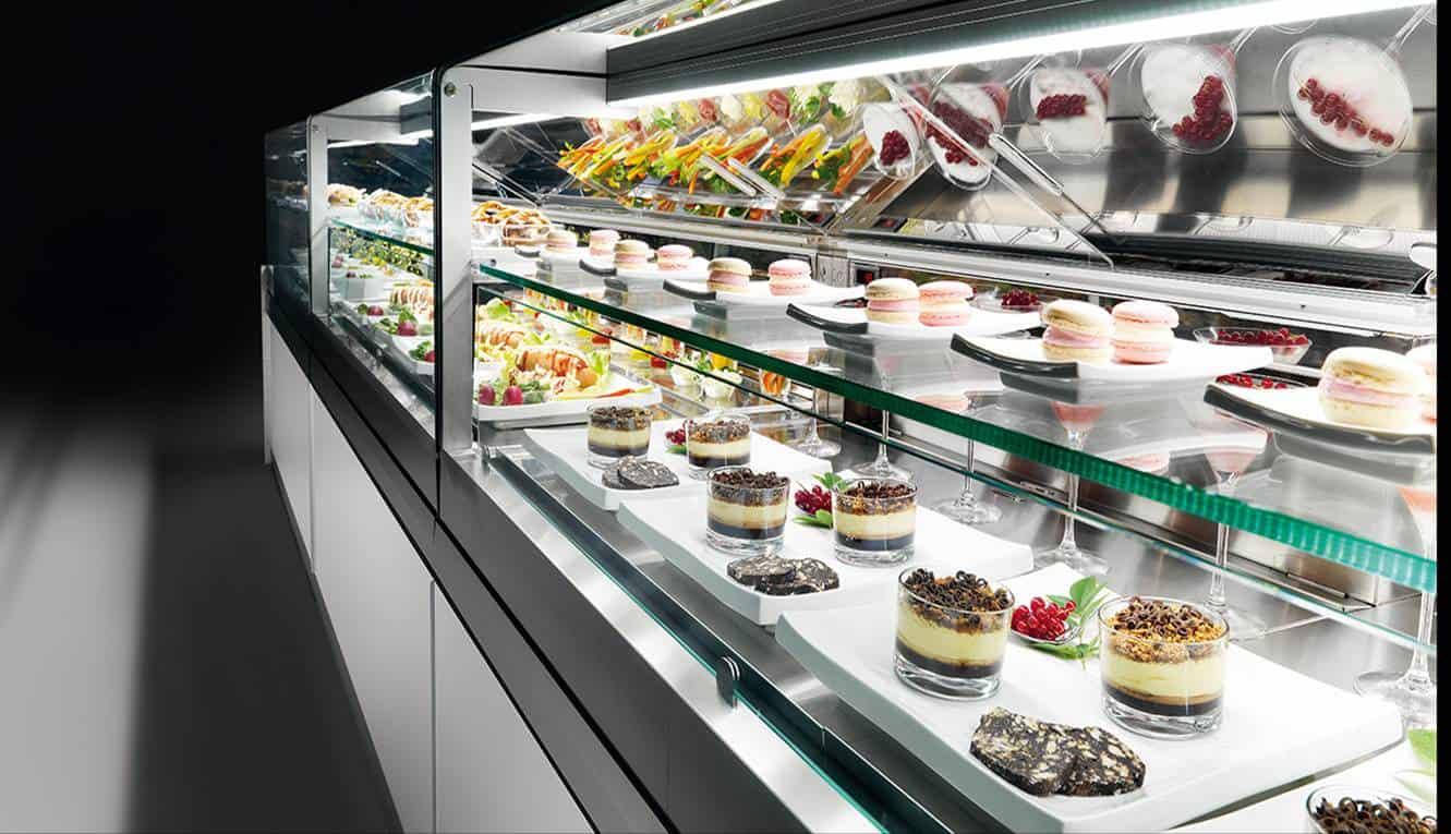Martin Food Equipment IFI-Cold-glass-Display-unit Hospitality