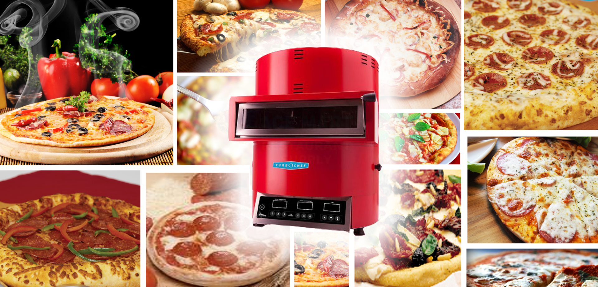 Martin Food Equipment Turbochef-Fire-Collage Latest in Pizza Cooking Solutions Events