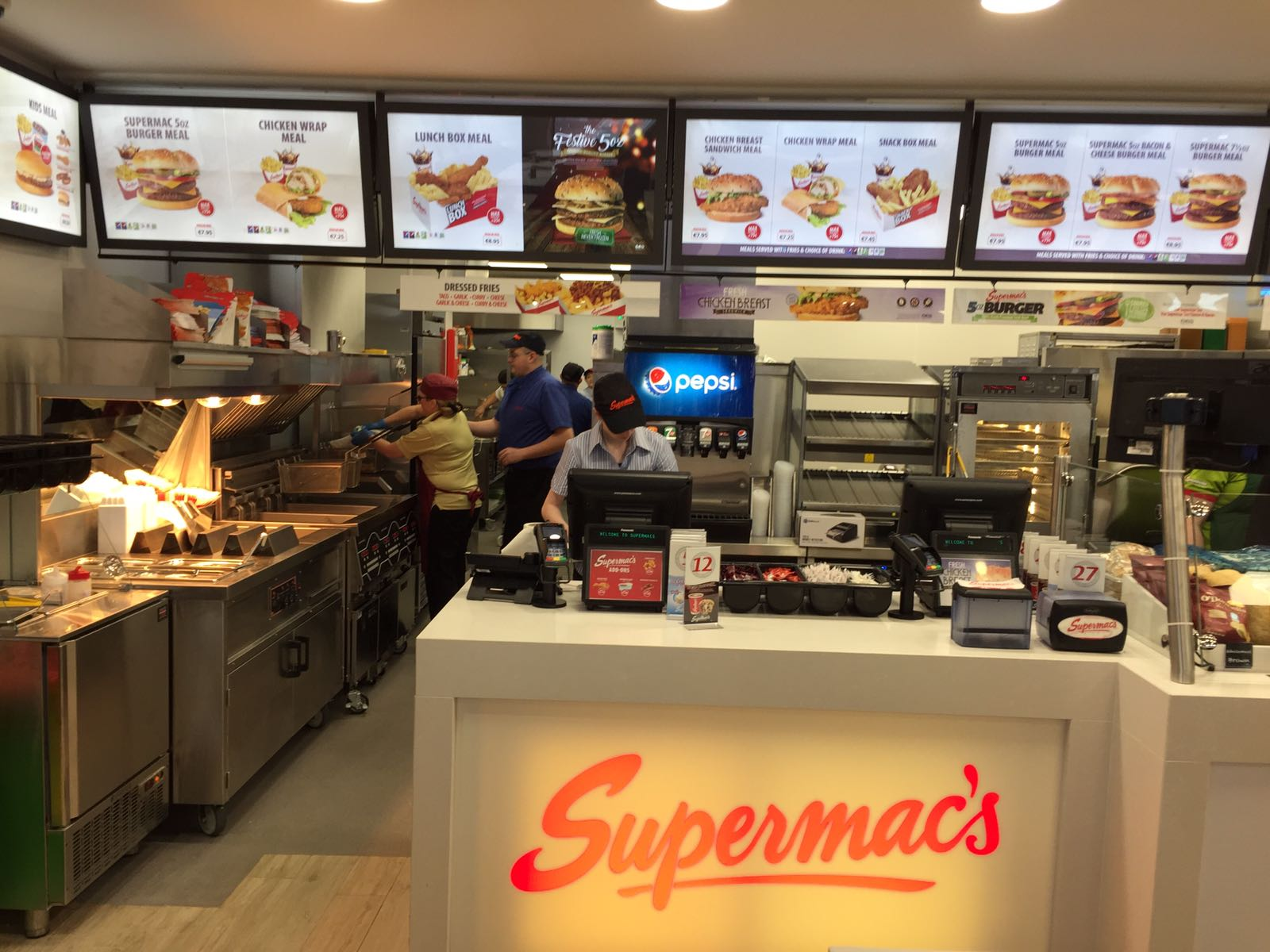 Martin Food Equipment Supermacs-Charlestown-1 QSR