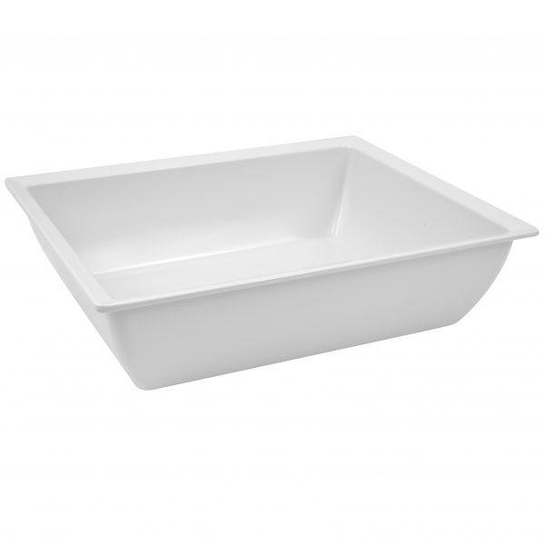 Martin Food Equipment T1292-e1484147346974 *White 1/2 Size Melamine Classico Crock (4L)