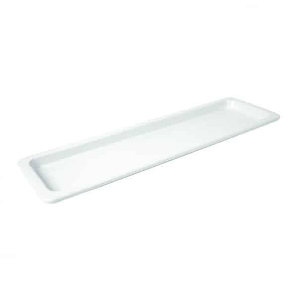 Martin Food Equipment T1460-e1484148529405 *Dalebrook White Mealamine 2/4 Thin Rim Gastro (1L)