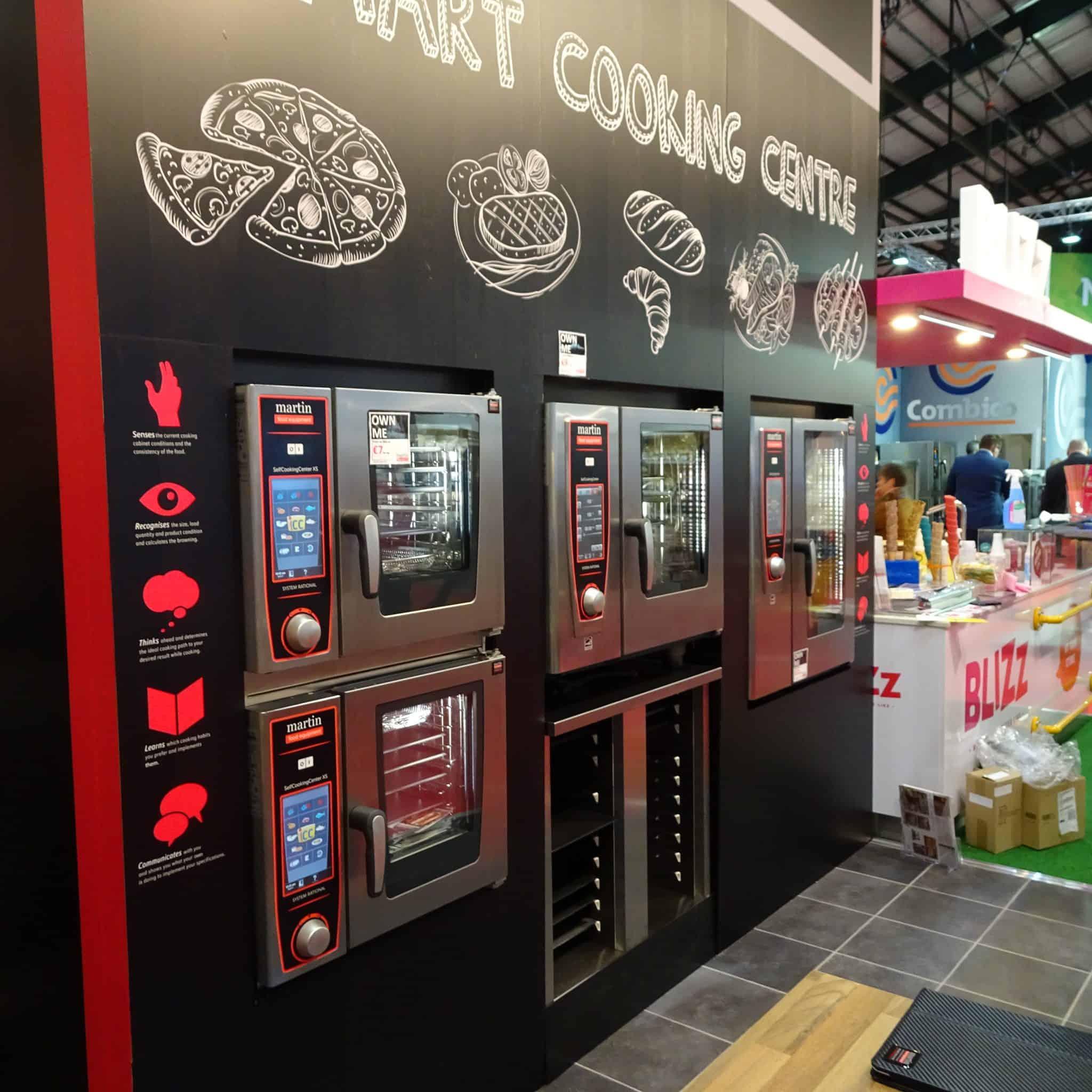 Martin Food Equipment Catex-2017-.combi-ovens Catex 2017 Events