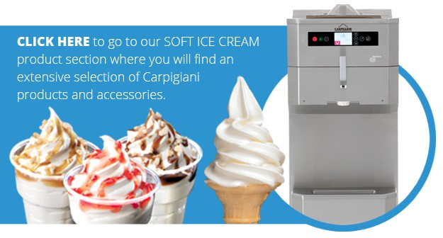 Ice Cream Landing Page Carpigiani