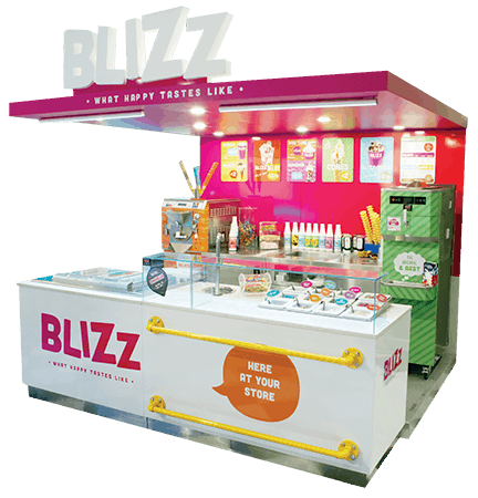 Blizz Ice Cream Parlour, Blizz, Martin Food Equipment