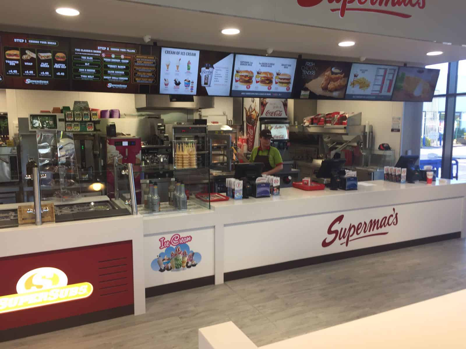 Martin Food Equipment f0bfc6cd-5cb1-498a-8786-bd7a24225945 Recent Installation at Supermacs Clarehall Dublin News