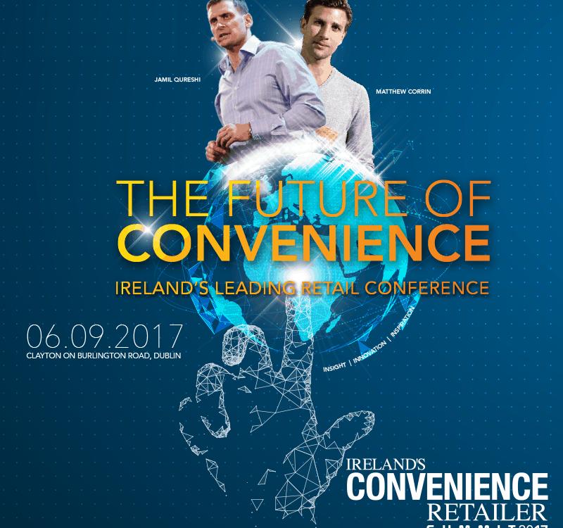 Advertisement for Convenience retailer summit 2017