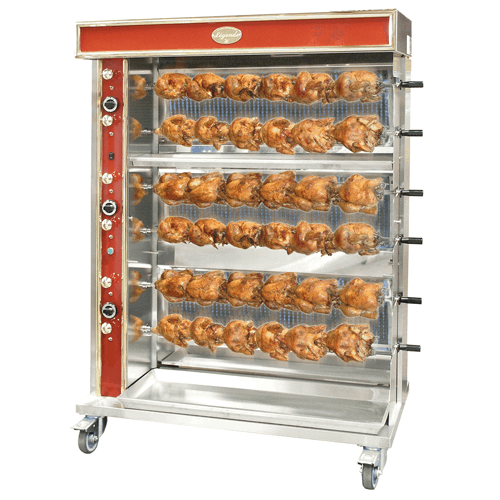 Large Inotech Rotisseries with 6 spits