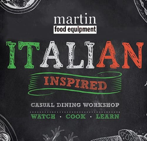 Italian inspired day logo
