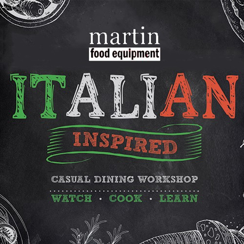 Martin Food Equipment Italian-Inspired-Square Italian Inspired Workshop Events