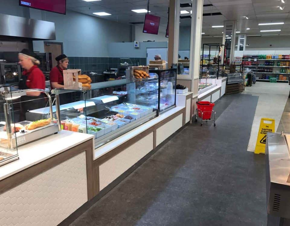Cold Deli Counter and Carvery