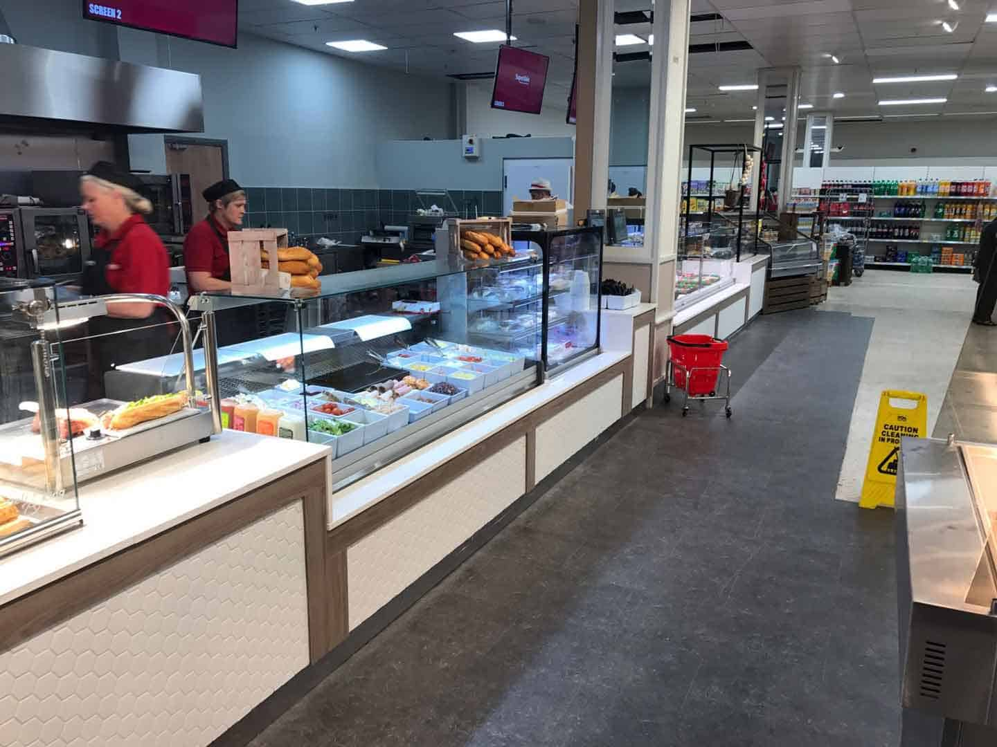 Martin Food Equipment Cold-Deli-Counter-Carvery-Unit-1 SuperValu, Comber Installations