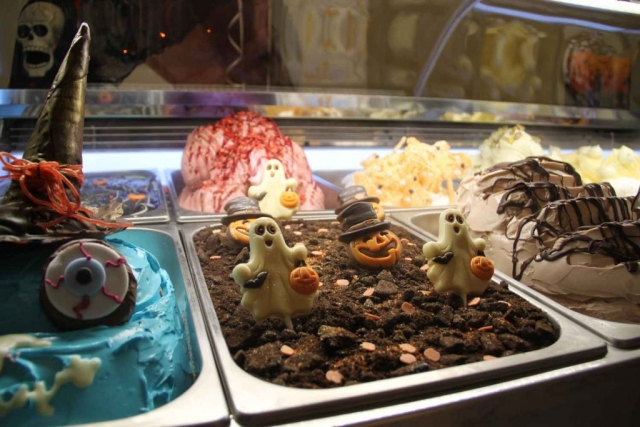 Halloween gelato made in martin food equipment