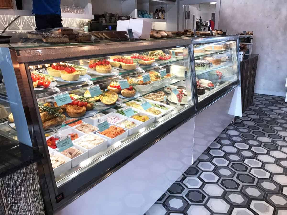 Martin Food Equipment Ifi-Cubika-Food-Display Cafe Mauds, Belfast Installations