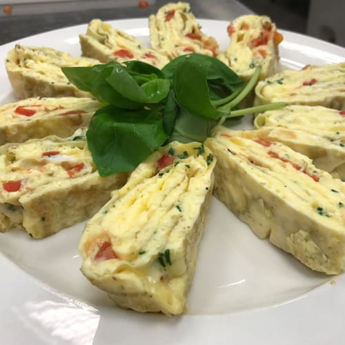 Omelette made using the VarioCooking Centre