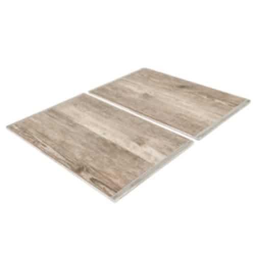 Martin Food Equipment Primeware-wooden-effect-hot-tile-insert-4-3- Primeware 4/3 Wood Effect Ceramic Tiled Insert