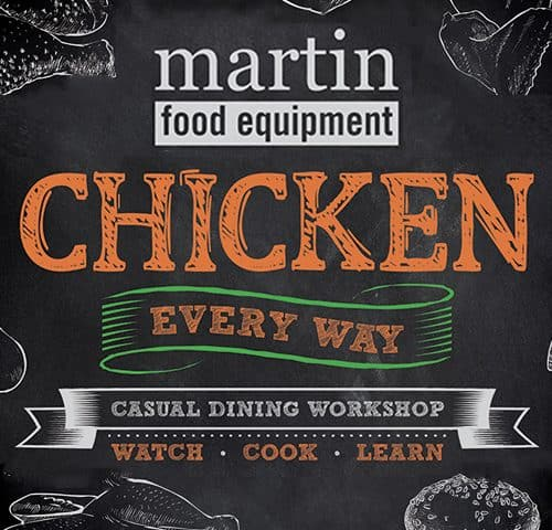 Martin Food Equipment Chicken-Every-Way-Tile-500x480 Chicken Every Way Workshop Events