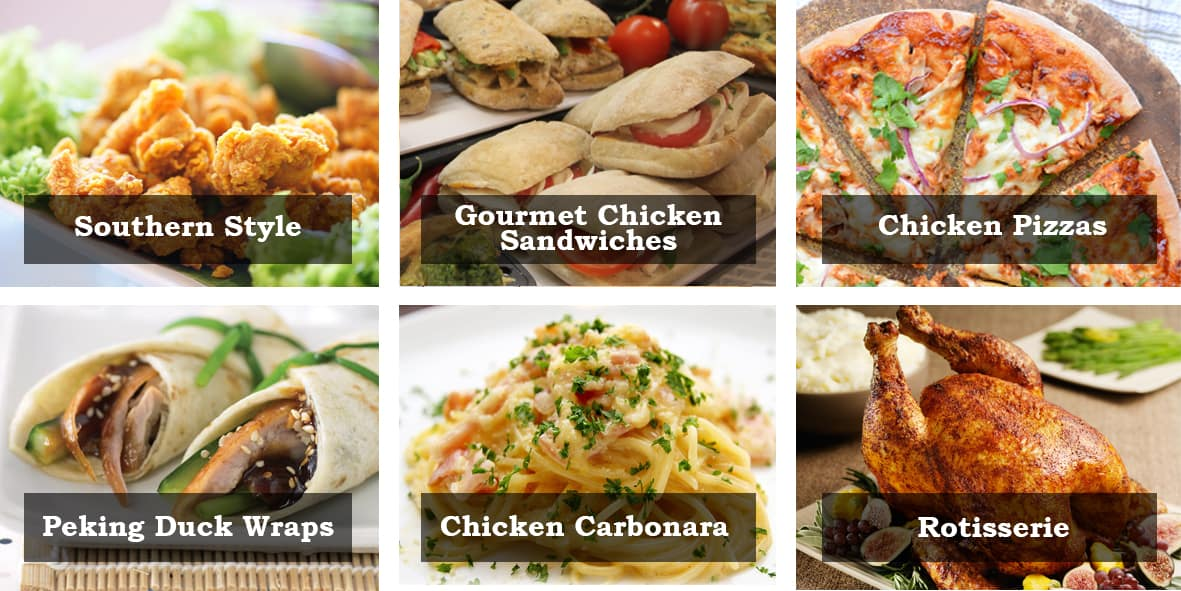 Martin Food Equipment Chicken-images-at-bottom-of-retail-ezine-with-text Chicken Every Way Workshop Events
