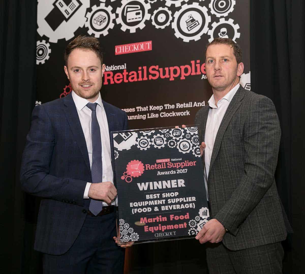 Martin Food Equipment Chris-McGeough-Vincent-Perth-Checkout-Awards Martin Food Equipment Awarded Best Shop Equipment Supplier News