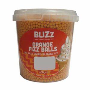 Blizz Orange Fizz Balls
