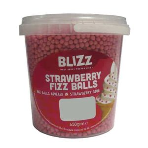 Blizz Strawberry Fizz Balls