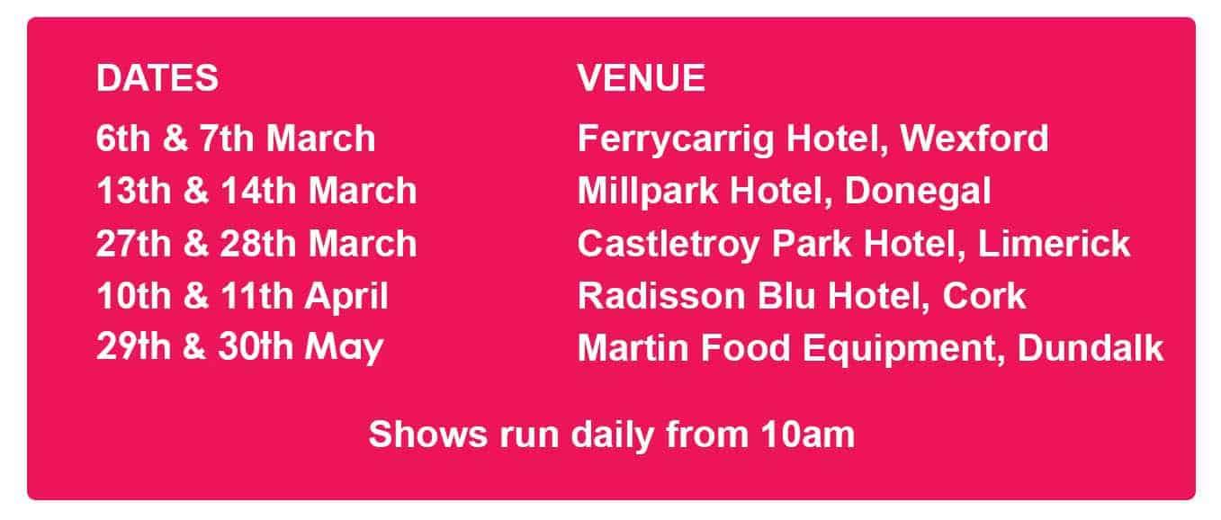 Martin Food Equipment Dates Ice Cream & Treats Roadshow 2018 Events