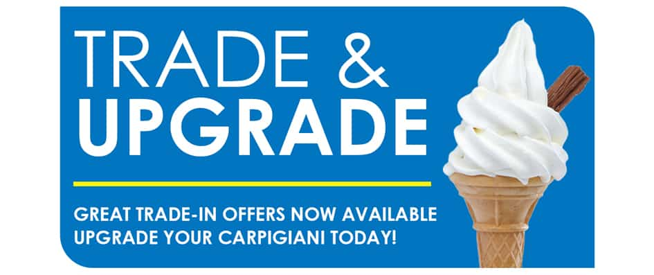 Martin Food Equipment Trade-and-Upgrade-Carpigiani-Trade-In-Martin-Food-Equipment- Carpigiani Ice Cream Machine Trade-In