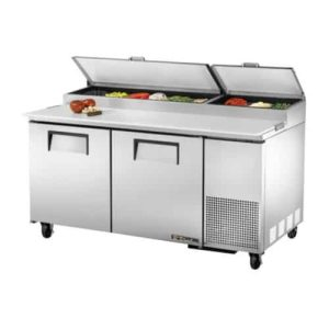 True Refrigerated pizza table
