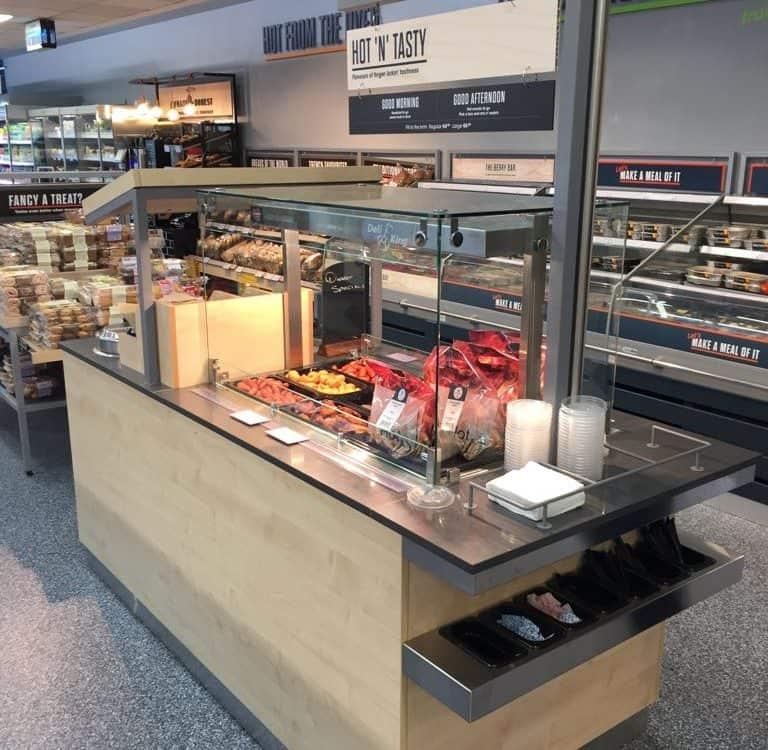 Martin Food Equipment Wing-Bar-768x750 Centra Griffeen, Lucan, Dublin Installations