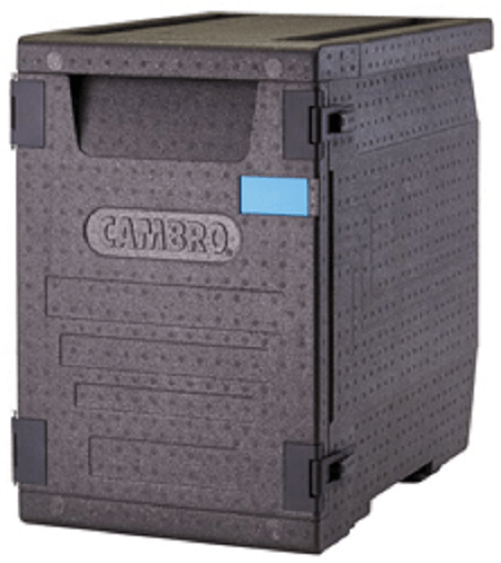 Martin Food Equipment gobox-blue Cambro GoBox Insulated Carriers (BLUE)