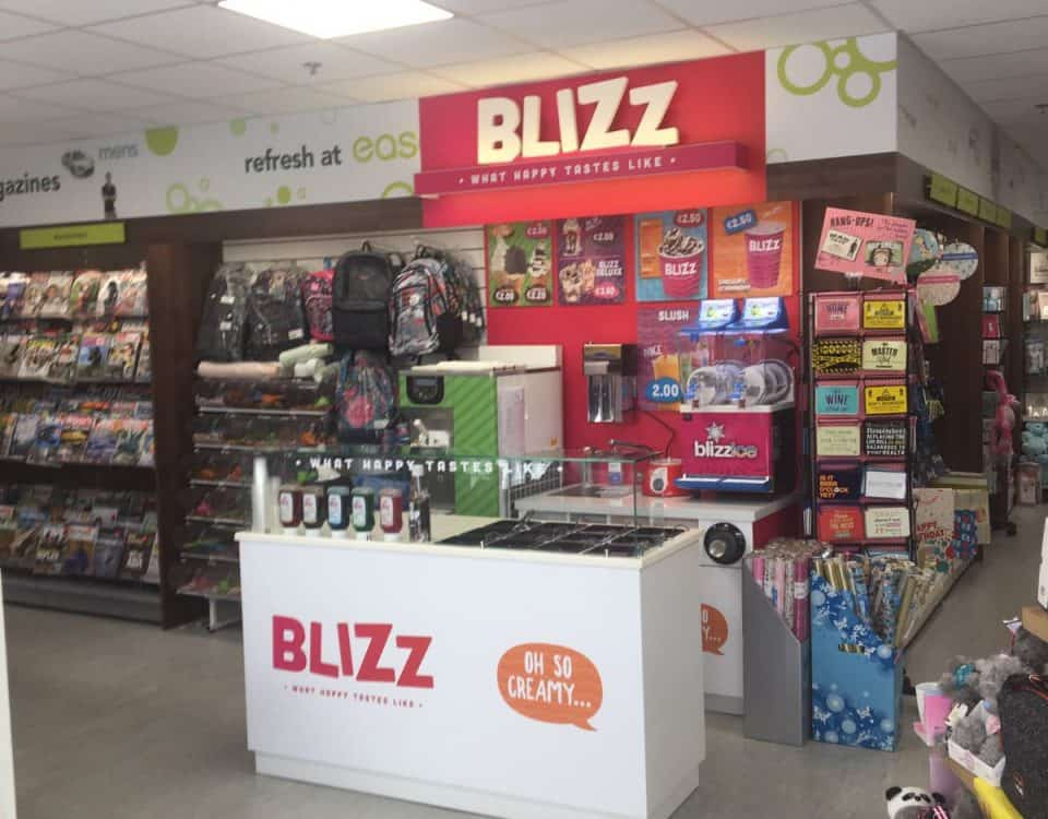 Martin Food Equipment Blizz-Ice-Cream-Parlour-Skycourt-Shannon-Shopping-Centre-960x750 Easons, Skycourt Shannon Shopping Centre, Co. Clare Installations